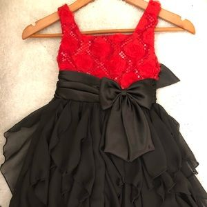 DARLING GIRLS FESTIVE DRESS